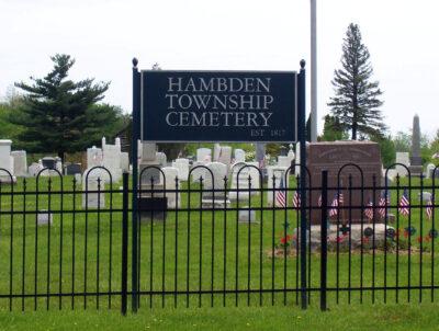 Cemetery Signage