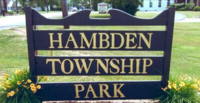 Hambden Township Park Signage