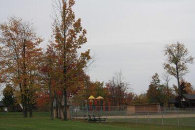 Playground Near the Baseball Field